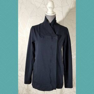 Lululemon Navy Stretch French Terry Belle Wrap